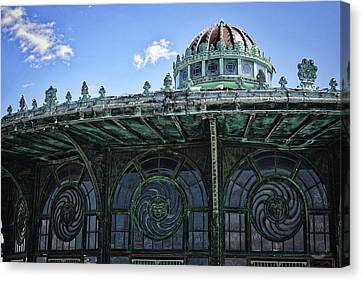 Carousel Canvas Print by Raven Steel Design