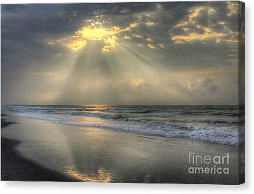 Clouds Canvas Print - Carpe Diem by Jeff Breiman