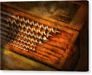 Carpenter - Auger Bits  Canvas Print by Mike Savad