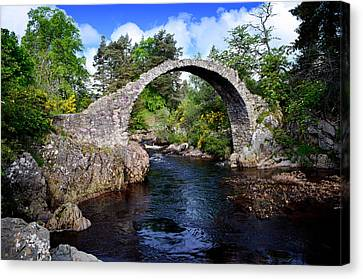Carr Bridge Scotland Canvas Print