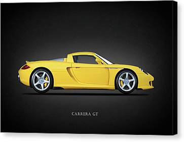 Carrera Gt Canvas Print by Mark Rogan