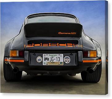 Carrera Rsr Canvas Print by Douglas Pittman