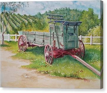 Carriage  Canvas Print by Charles Hetenyi