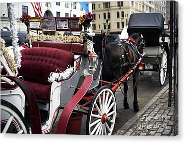 Carriage Memories Canvas Print
