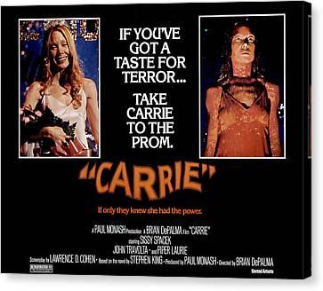 Carrie, Sissy Spacek, 1976 Canvas Print by Everett