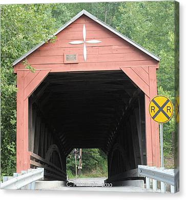 Carrollton Covered Bridge Canvas Print