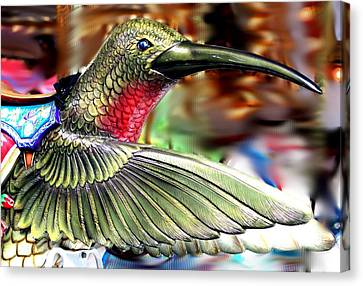 Carrousel Hummingbird Canvas Print
