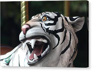 Carrousel Tiger Canvas Print