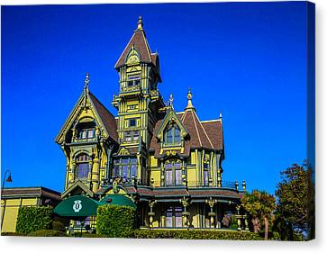 Carson Mansion Canvas Print by Garry Gay