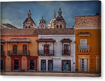 Cartagena De Indias Canvas Print by Hanny Heim
