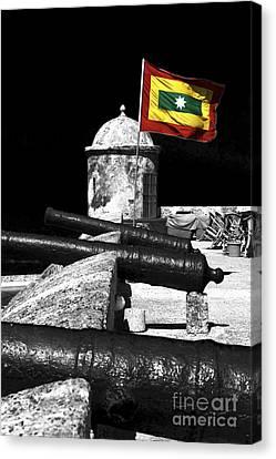 Cartagena Walled City Canvas Print by John Rizzuto