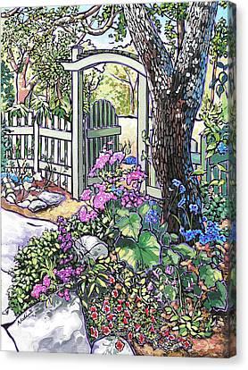 Carter Garden Canvas Print by Nadi Spencer