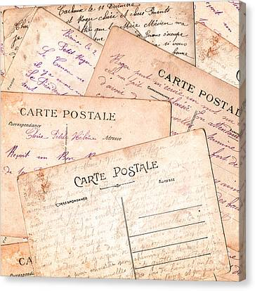 Cartes Postales Canvas Print by Delphimages Photo Creations