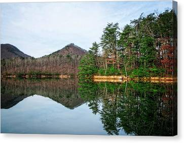 Canvas Print featuring the photograph Carvins Cove  by Alan Raasch