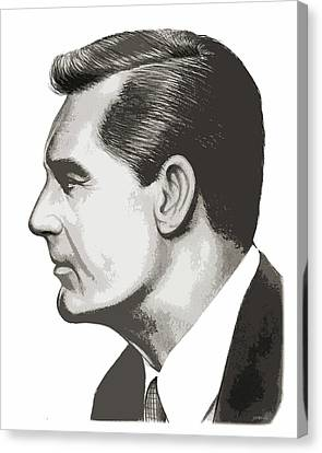 Cary Grant Canvas Print by Greg Joens