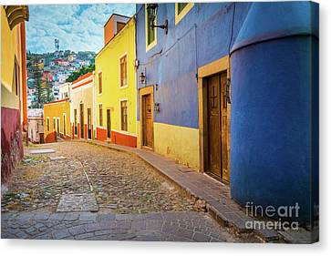 Casa Azul Canvas Print by Inge Johnsson