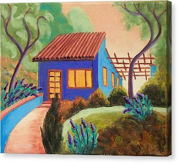 Casa Azul Canvas Print