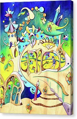 Casa Batllo - Antoni Gaudi Barcelona Canvas Print by Arte Venezia