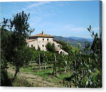 Casa Bella Canvas Print by Paul Barlo