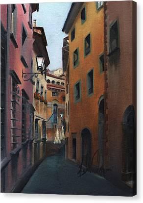 Casa Cordati Canvas Print by Leah Wiedemer