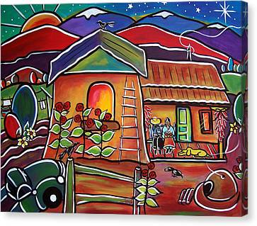 Casa De Abeulos Canvas Print