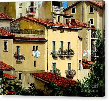 Casa Del Sol Canvas Print by Michael Swanson