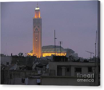 Canvas Print featuring the photograph Casablanca by Erik Falkensteen