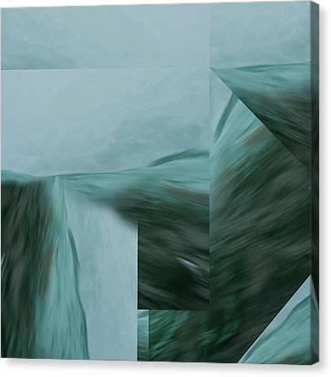 Cascade  Aquascape -  Canvas Print