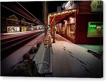 Canvas Print featuring the photograph Cascade Avenue by Cat Connor