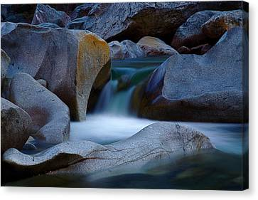Cascade Canvas Print by John Daly
