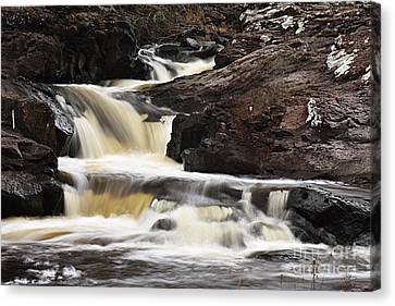 Cascade On The Two Island River Canvas Print