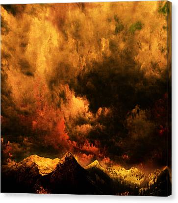 Cascade Storm Canvas Print by Jeff Burgess