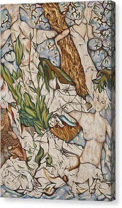Case Of Forest Canvas Print by Turgay Denizel