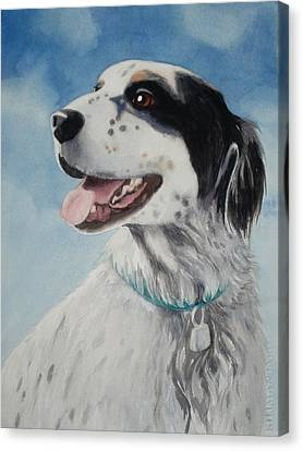 Casey Canvas Print by Marilyn Jacobson