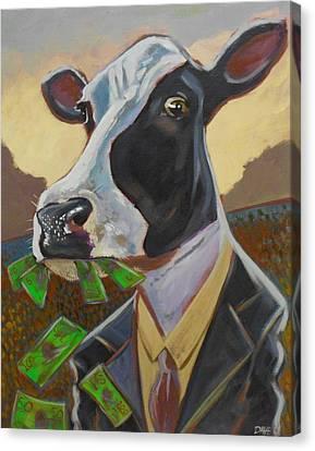 Cash Cow Canvas Print