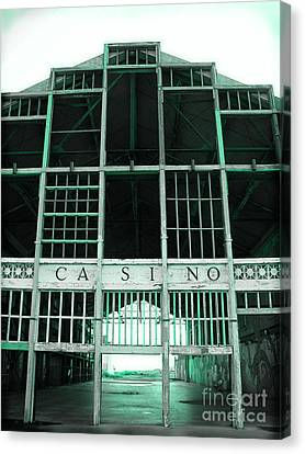 Asbury Park Casino Canvas Print - Casino by Colleen Kammerer