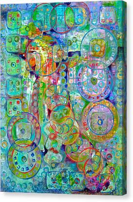 Casino Canvas Print by Gretchen Ten Eyck Hunt