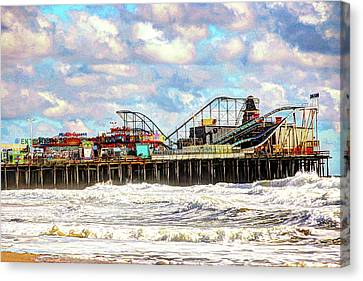 Casino Pier, Seaside Heights Canvas Print
