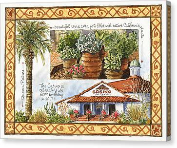 Clemente Canvas Print - Casino San Clemente by Leslie Fehling