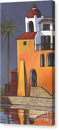 Spanish House Canvas Print - Casita II by Paul Brent