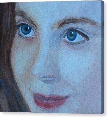 Cass Up Close Canvas Print by Jenny Armitage