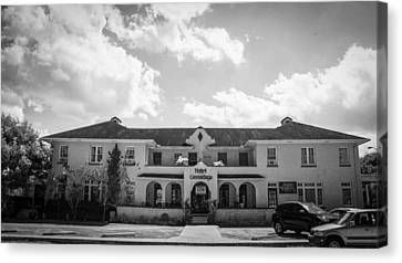 Clouds Canvas Print - Cassadaga Hotel by Kendall Tabor
