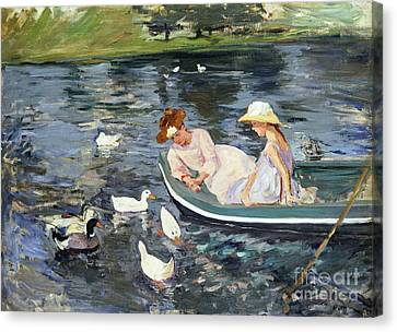 Cassatt: Summertime, 1894 Canvas Print by Granger