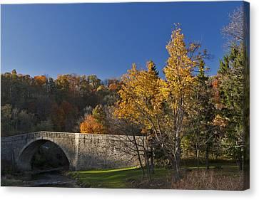 Casselman River Bridge Canvas Print by Gregory Scott
