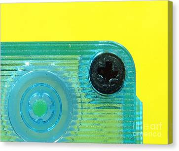 Cassette Tape Closeup Canvas Print