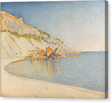 Cassis. Cap Lombard. Opus 196 Canvas Print by Paul Signac