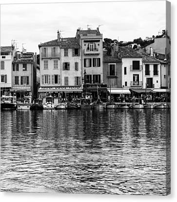 Cassis - French Seaside Town - Square Canvas Print