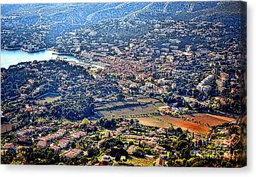 Cassis Canvas Print by Olivier Le Queinec
