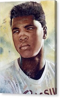 Cassius Clay Canvas Print