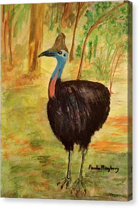 Cassowary Bird Canvas Print